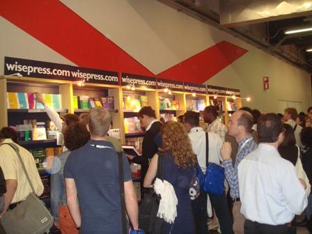 Stroke Books Exhibiton at Milan Neurology Meeting.